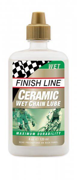 Lubrificante Para Corrente Finish Line Ceramic Wet Úmido - 120 ml