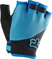 Luva Ciclismo Fox Head Reflex Short - Azul e Preto