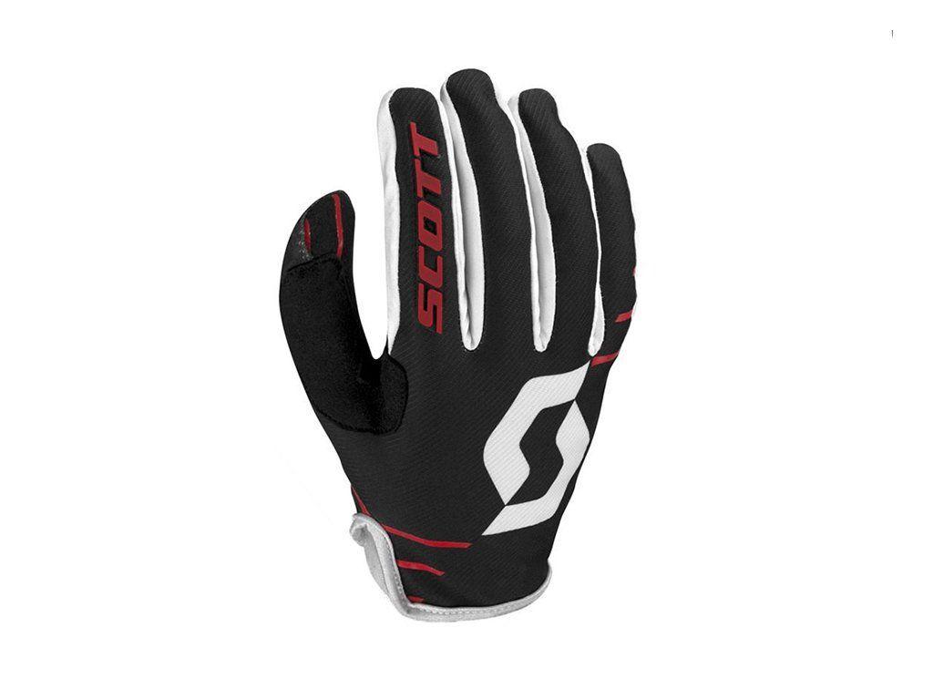 Luva Scott Unissex Gloves 350 Dirt - Preto e Branco