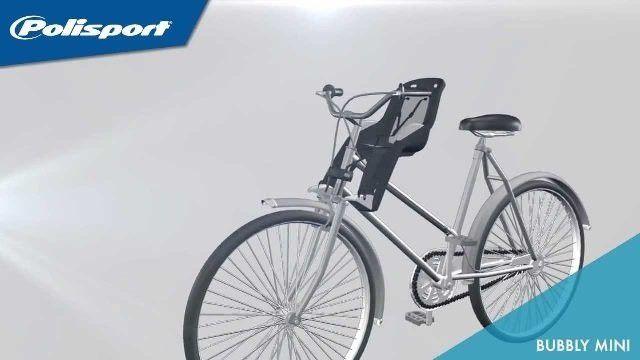 Mini Cadeirinha Dianteira / Frontal Polisport Para Bicicleta