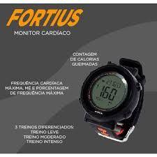 Monitor Cardíaco Fortius com Heart Rate ES049 Atrio - Preto
