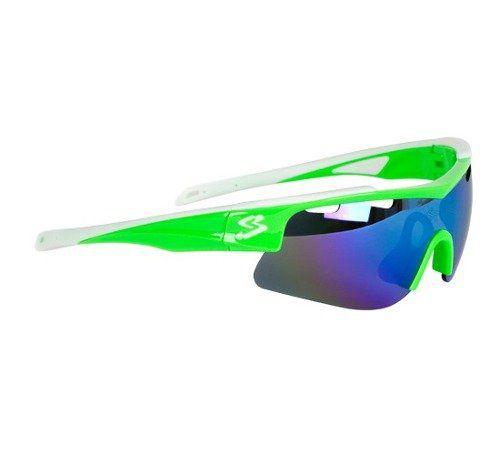 Óculos Ciclismo Spiuk Arqus - Branco e Verde