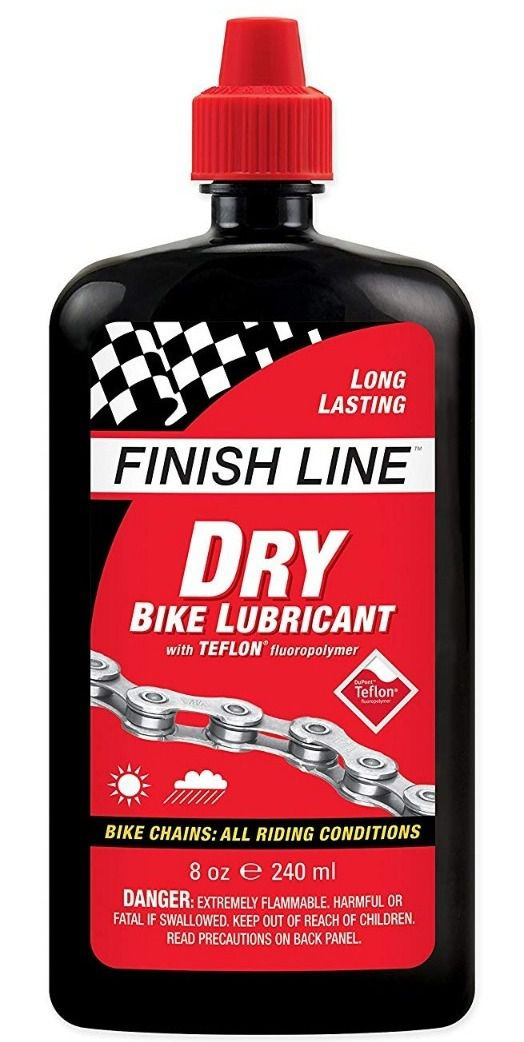Óleo Lubrificante Finish Line Dry Teflon Seco 240 ml