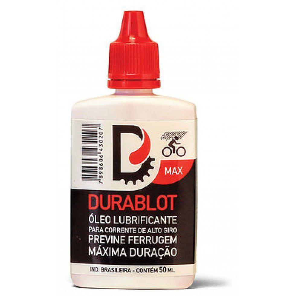 Óleo Lubrificante para Corrente de Bicicleta Durablot Max Máxima Duração 50ml
