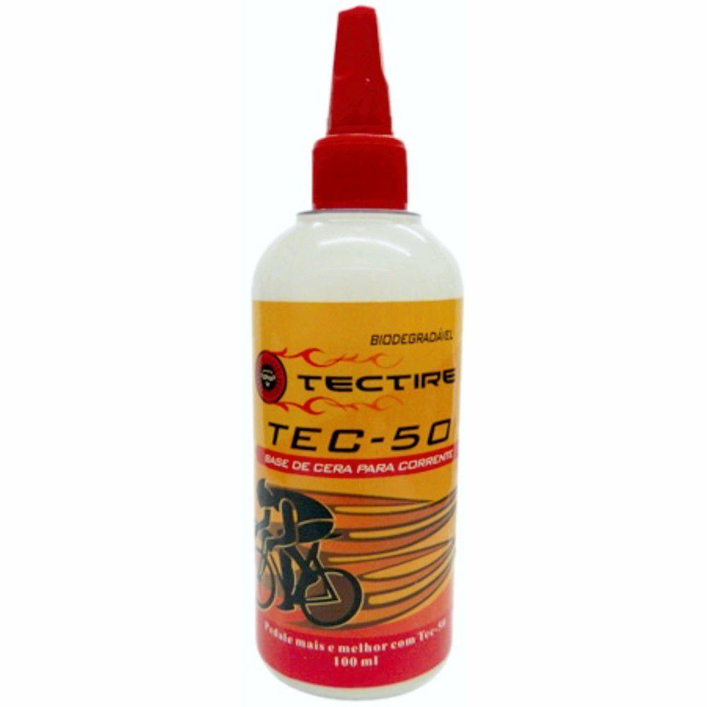 Óleo Lubrificante Tectire Tec-50 Base de Cera Bike - 120 Ml