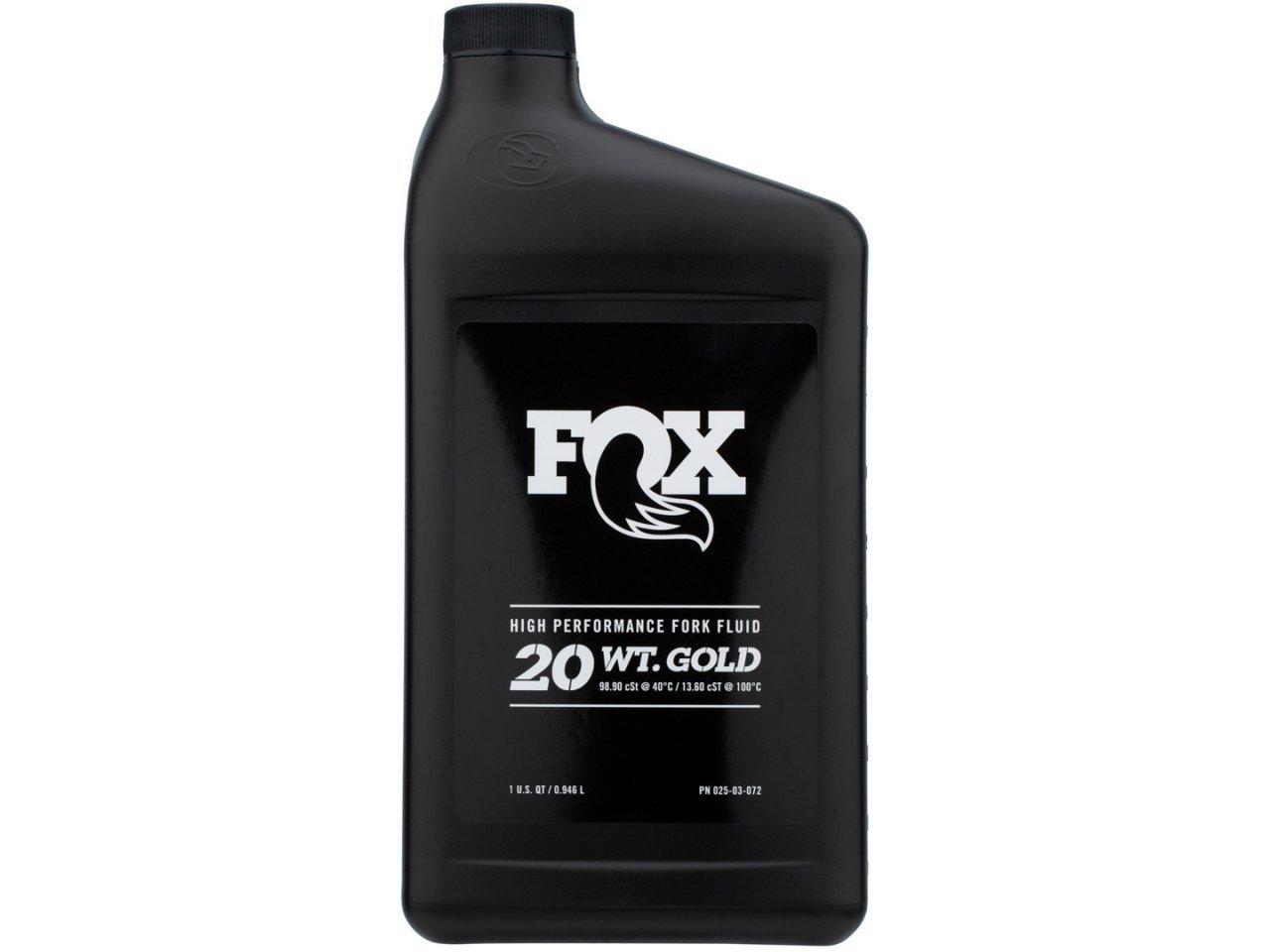 Óleo para Suspensões e Amortecedores Fox 20 WT Gold - 946 ml