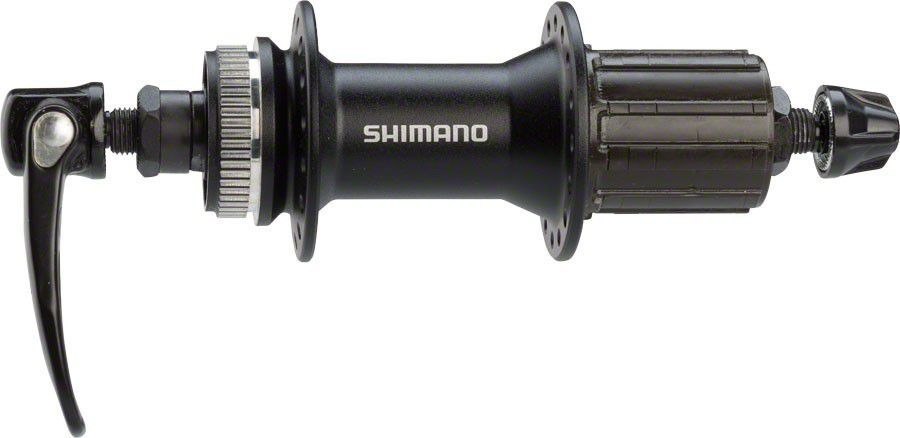 Par de Cubos Shimano Alivio M4050 32 Furos 7/8/9/10/11V
