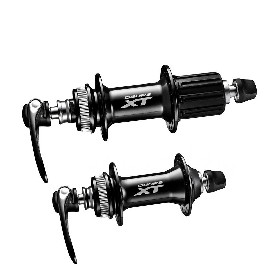 Par de Cubos Shimano Deore XT M8000 32 Furos Center Lock 9mm
