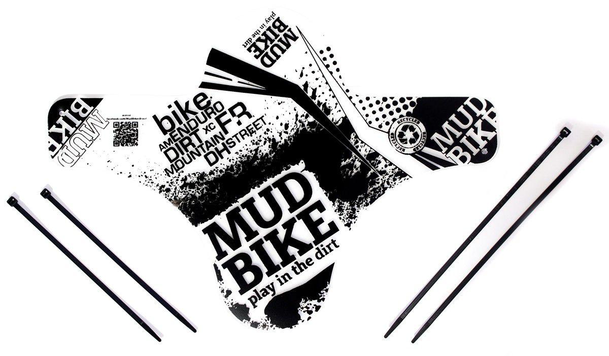 Paralama Dianteiro para Bicicleta Mud Bike MTB