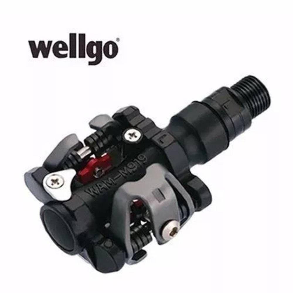 Pedal Clip MTB Wellgo M919 + Tacos
