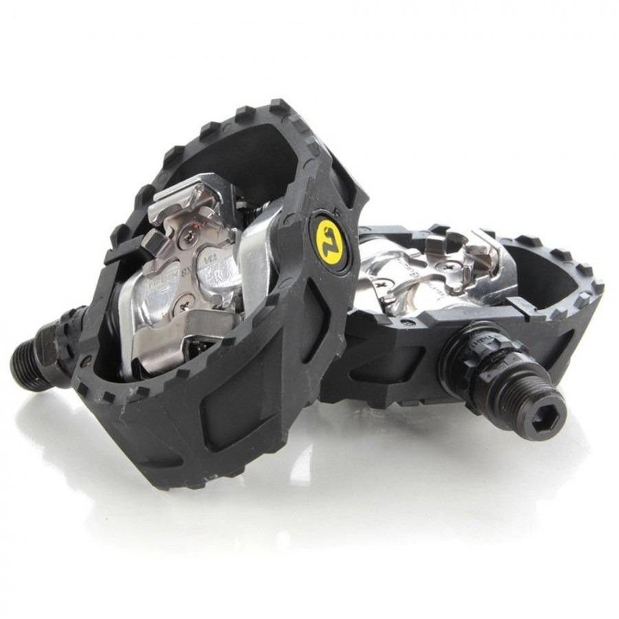 Pedal Clip Shimano Pd-m424 Com Taquinhos