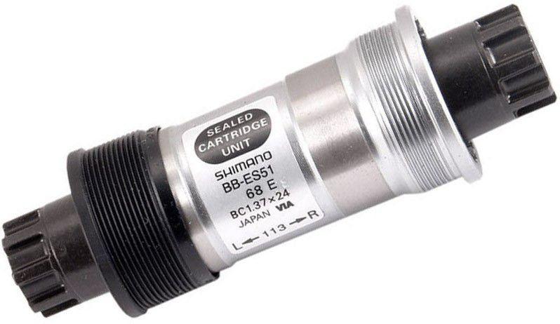 Pedivela Shimano Deore M523 Triplo 10V 175mm + Movimento BB-ES51 Octalink
