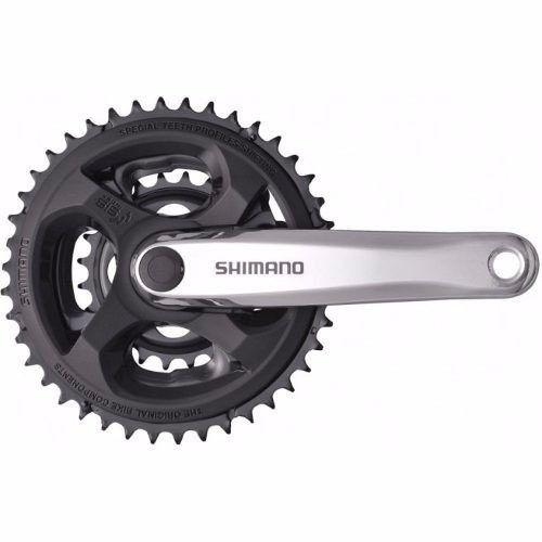 Pedivela Shimano Tourney Fc-m131 24/34/42 Dentes Aluminio