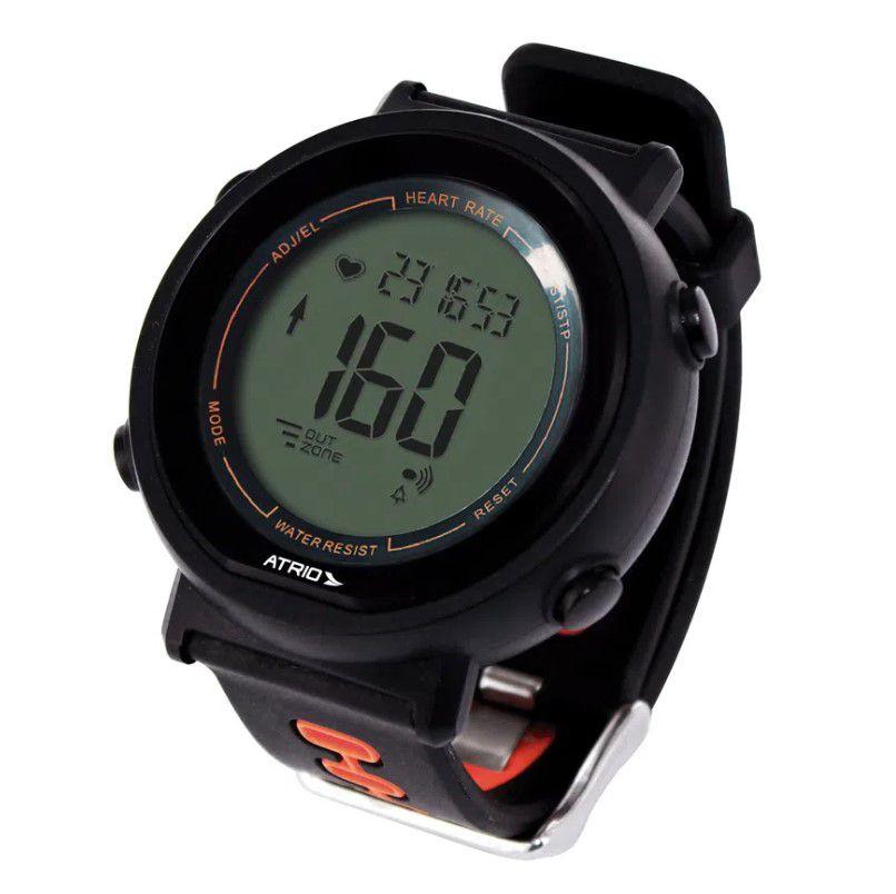 Relógio Monitor Cardíaco Atrio Fortius ES049 - Preto