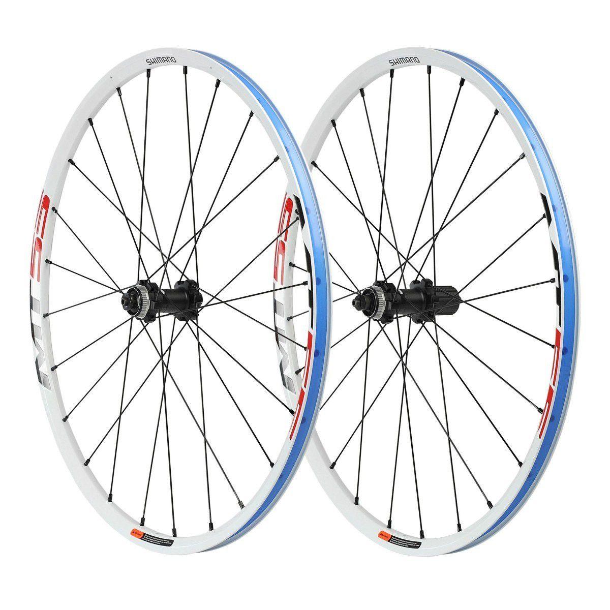 Roda Shimano MT55 8 9 10v Aro 29 Disco Branco