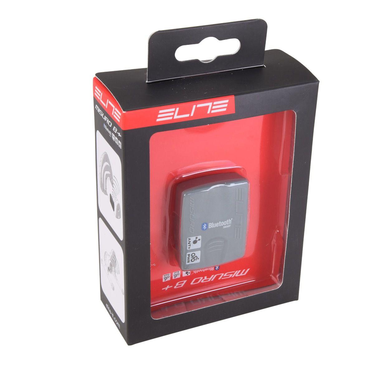 Rolo De Treinamento Elite Novo Force + Sensor Misuro Elite B+ Bluetooth