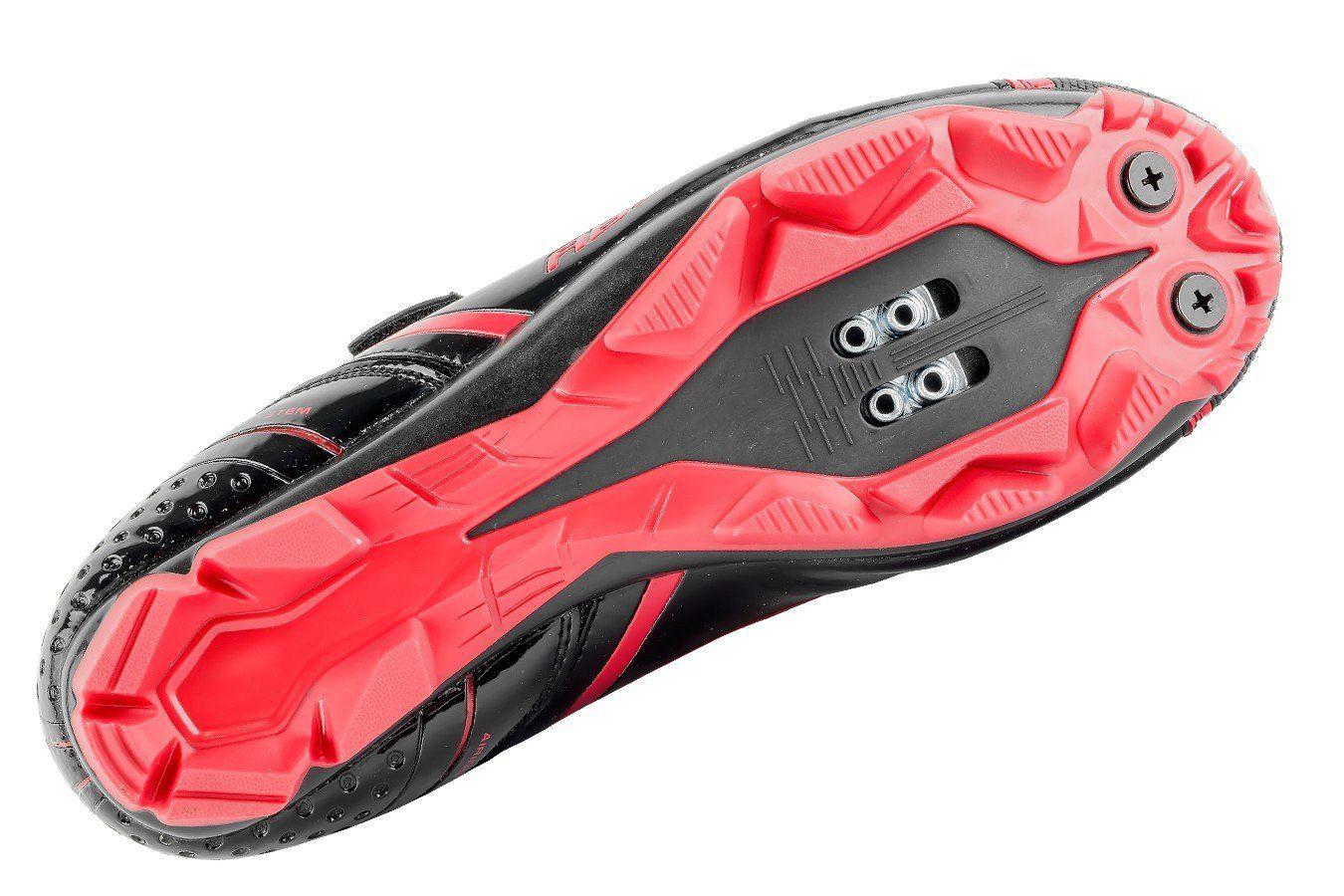Sapatilha MTB Ciclismo Absolute Nero - Preto e Vermelho