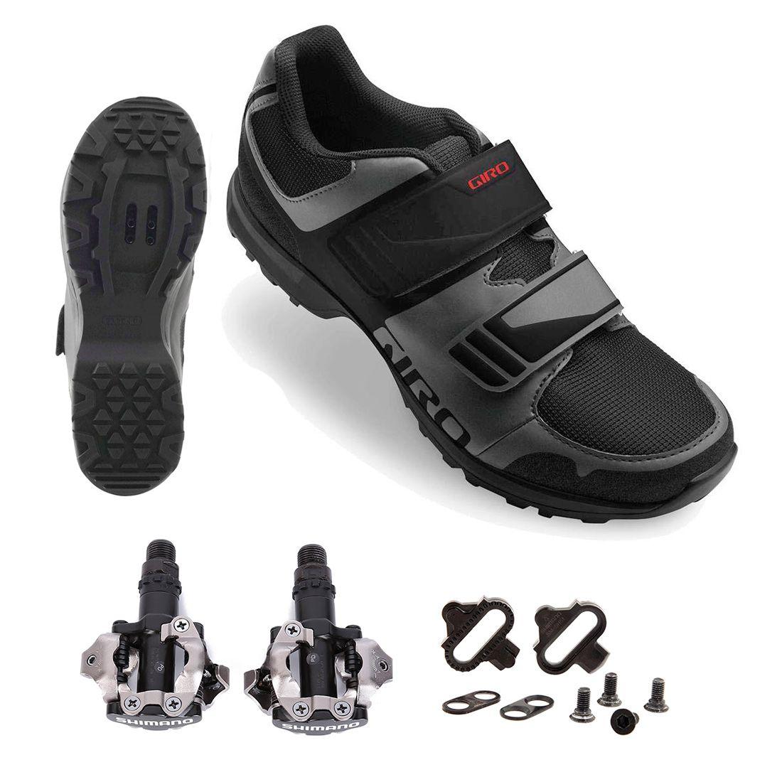 Sapatilha Giro Berm MTB + Pedal Shimano PD-M520 + Tacos ME2 ME3