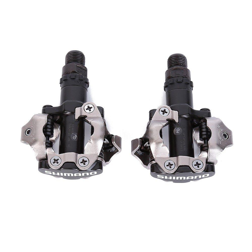 a60049c0ea ... Sapatilha Giro Cylinder Preta MTB mais pedal M520 com tacos ...