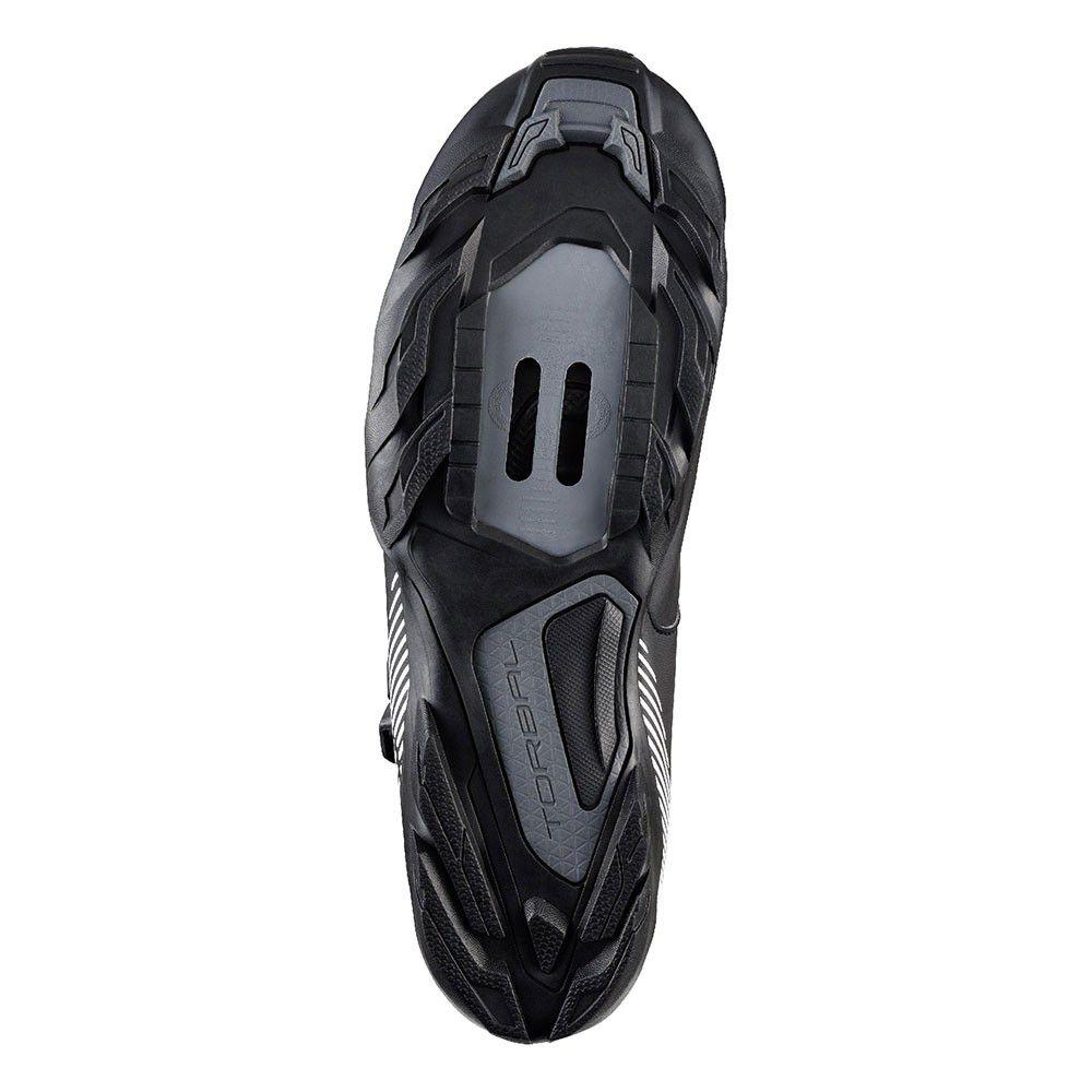 Sapatilha Shimano SH-ME300 Pedal Clip MTB Preta com Micro Ajuste
