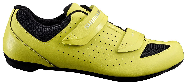 Sapatilha Shimano Speed RP1 RP100 Amarela Neon