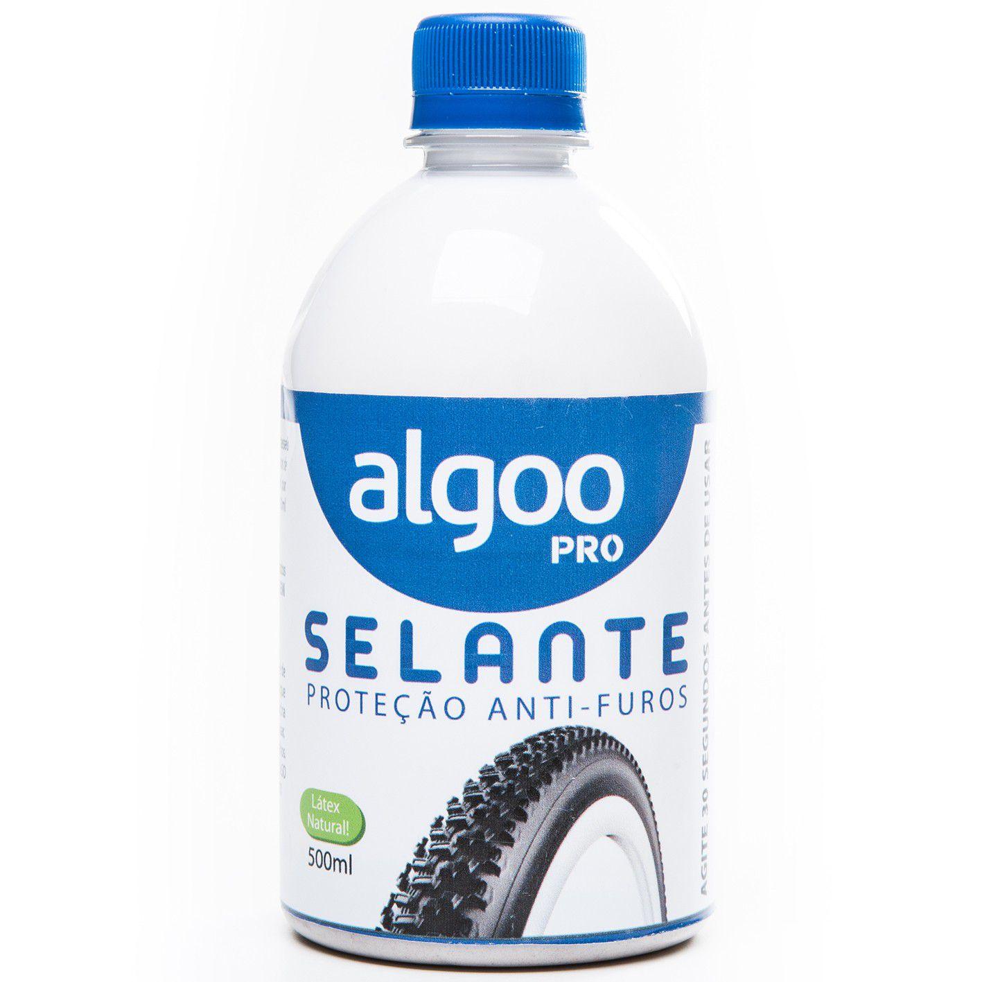 Selante Algoo Pro Para Pneu Tubeless Anti Furos - 500 ml