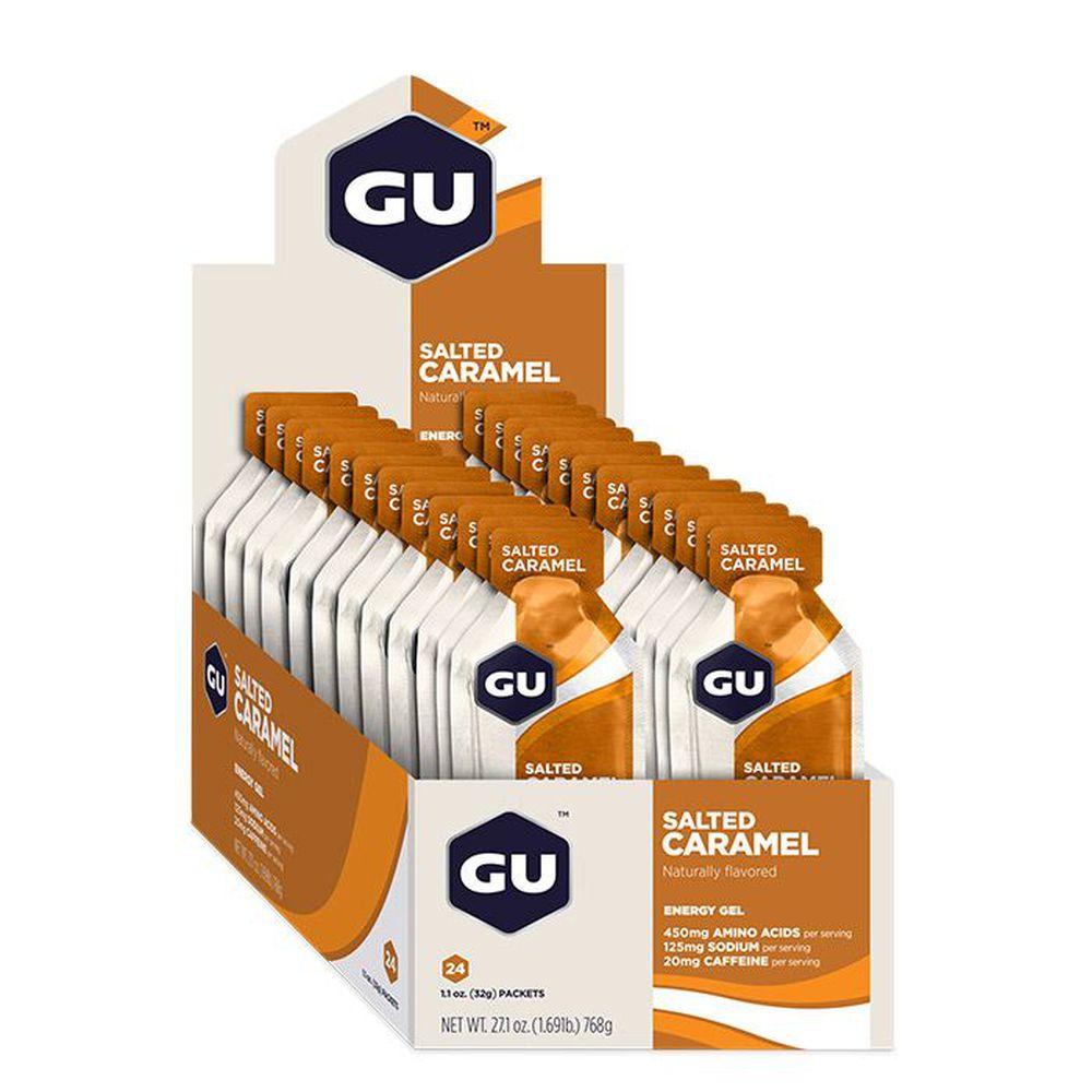 Suplemento Gu Energy GEL sabor Caramelo ( Caixa com 24 unidades )