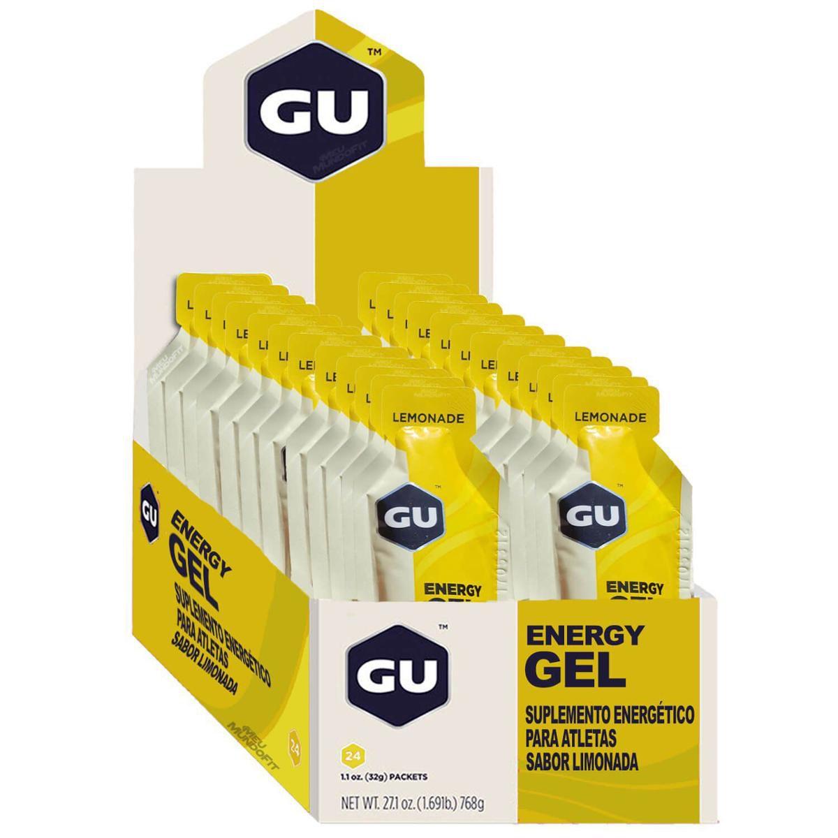 Suplemento Gu Energy GEL sabor Limonada ( Caixa com 24 unidades )