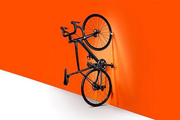 Suporte de Parede Bike Speed Hornit Clug  23-32 mm - Bco/Pto