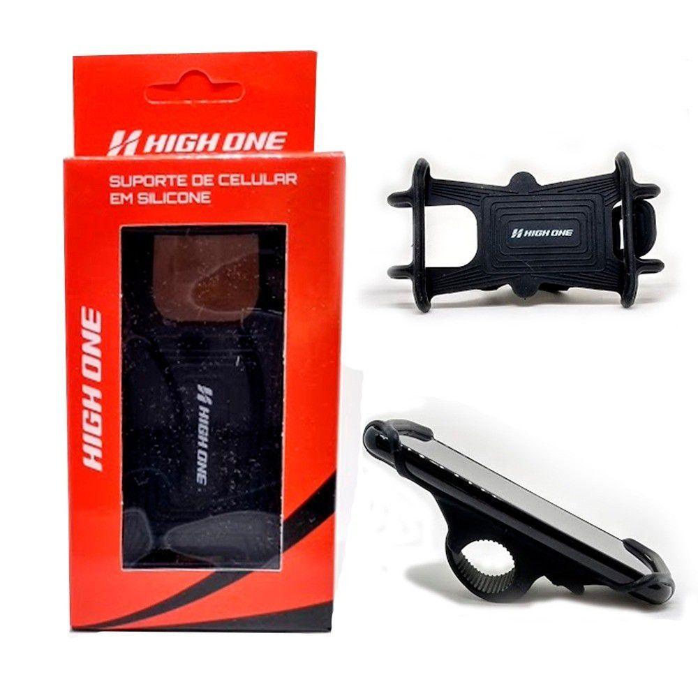 Suporte de Celular High One para Bicicleta Silicone