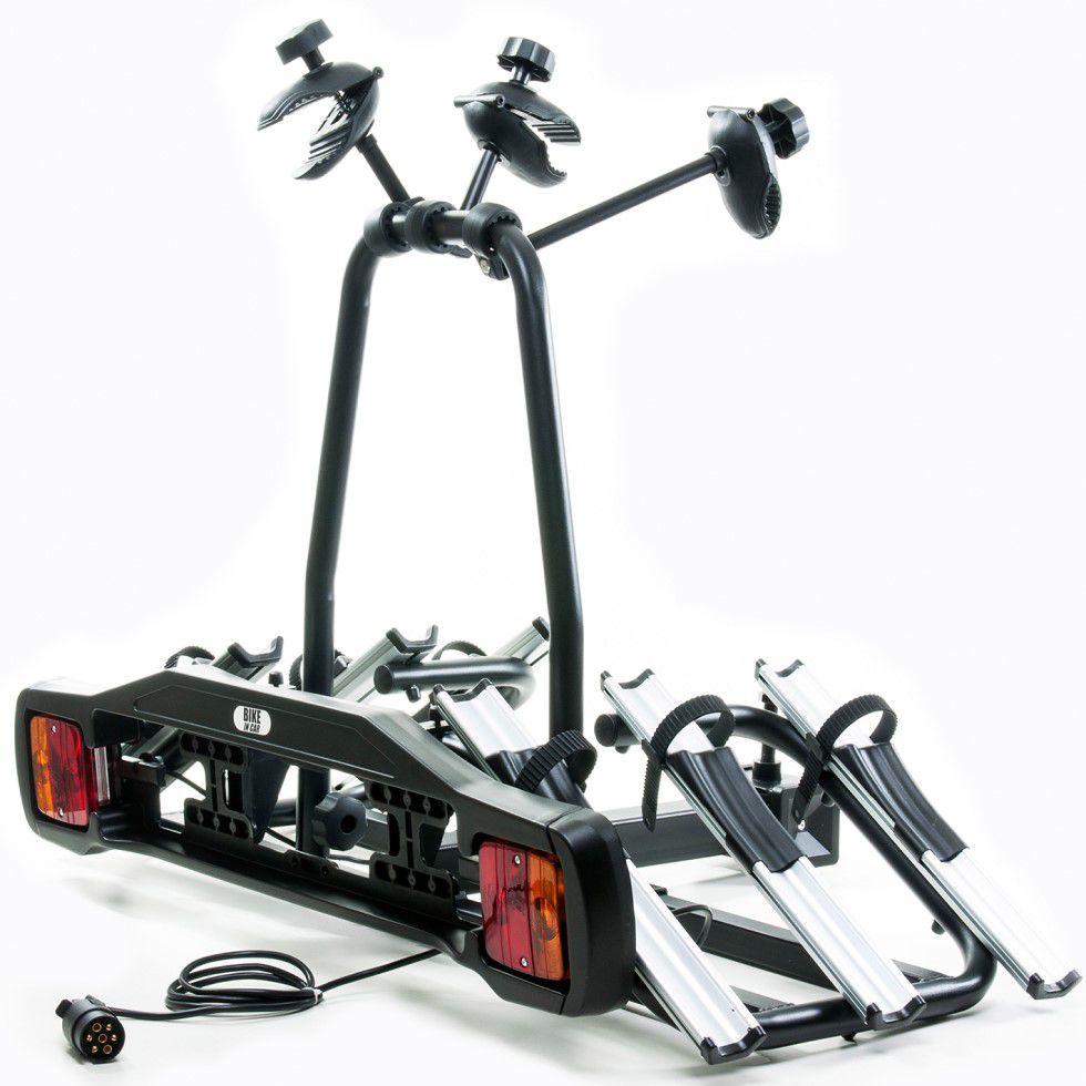 Transbike Reboque P/ Engate 3 Bikes Suporte com Sinalização
