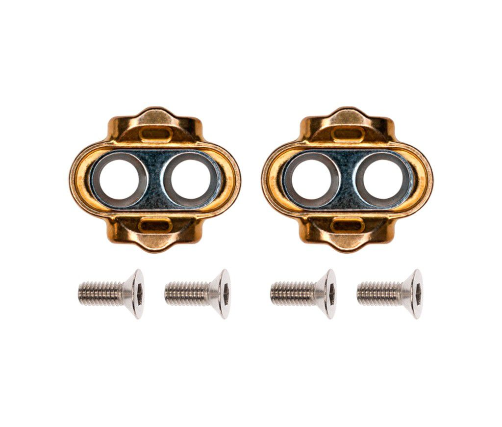 Taco Pedal Clip Crank Brothers Standart Release 6 Graus - Gold