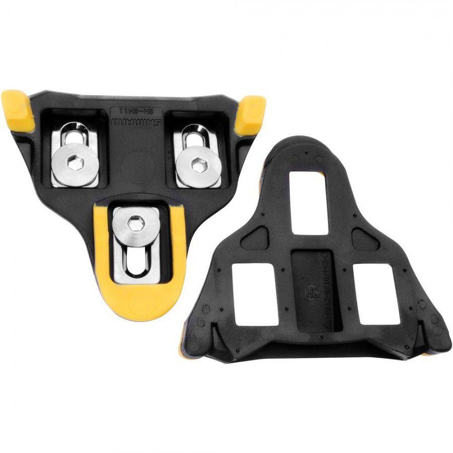 Taco de Pedal Speed Shimano SPD SM-SH11 - Amarelo