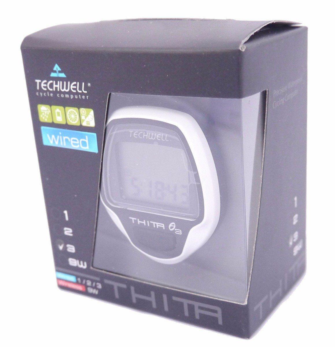 Velocímetro Digital Techwell Thita - 10 Funções Com Fio