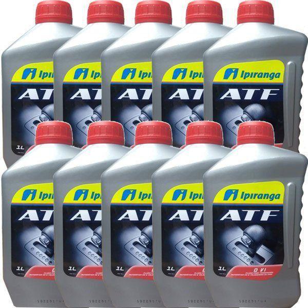 10 Litros Oleo Cambio Dexron 6 Ipiranga