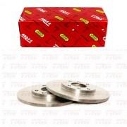 Disco De Freio Dianteiro Solido Citroen C2 2004 A 2009 / Citroen C3 2003 A 2012 / Partner 1999 A 2003 Rpdi02370