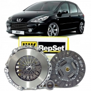 Kit Embreagem Repset 200Mm 18 Estrias - Peugeot 307 2002 Á 2012 - 6203086000 - Kit00751