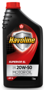 Oleo Havoline Superior Sl 20W50 - Sae20W50Sl