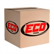 Pastilha Freio S/Alarme - Golf 03-02 A3 99 / New Beet - Eco1034 - Ecopads