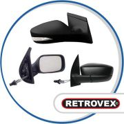 Retrovisor Controle Direito Retrov Fiat Uno 2001 A 2005