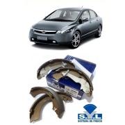 Sapata Freio - Civic 01 / Tds - 203802 - Syl