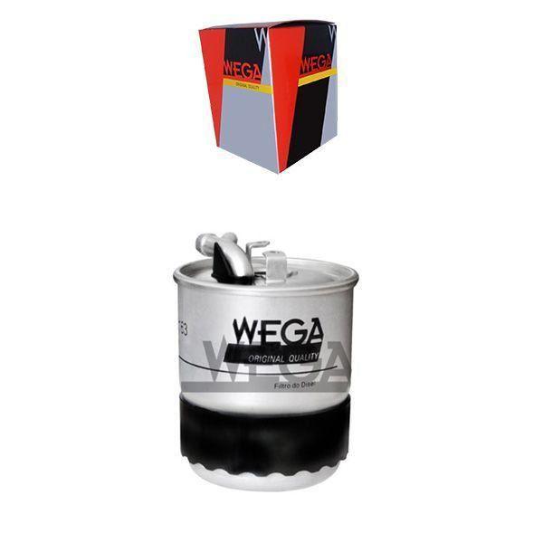 Filtro De Combustivel Diesel Blindado - E200 2002 A 2008 / E280 2004 A 2009 / E290 1996 A 1999 / E300 2007 A 2009 / E320 2002 A 2009 / E420 2005 A 2009 - Fcd2163