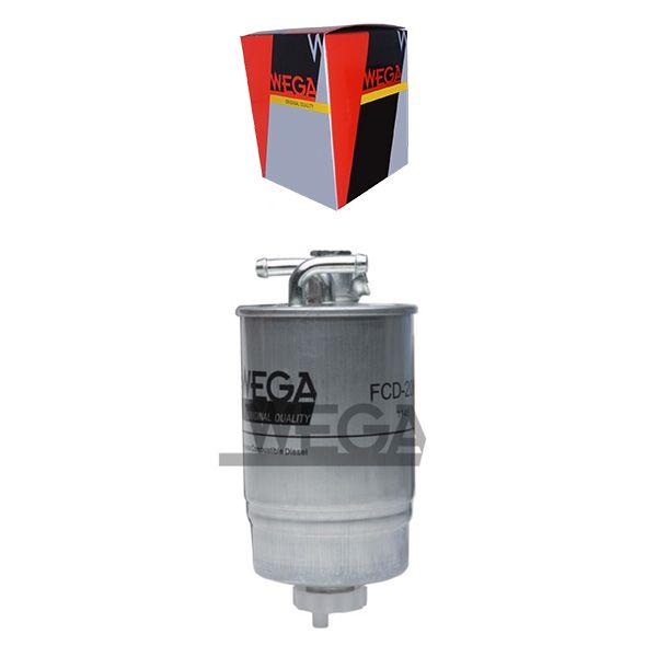 Filtro De Combustivel Diesel Com Dreno Caravelle 1995 A 2000 / Eurovan 1998 A 2000 / F250 2001 A 2006 / Gmc 2001 A 2002 Fcd2067