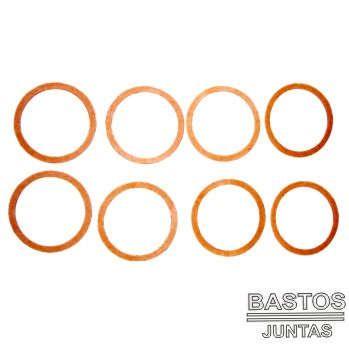 Junta Distribuidor Ign Bloco - Chevette / Chevy / Maraj Tds - 124214 - Juntas Bastos