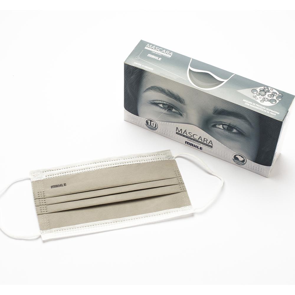 Mascaras Proteção Respiratória Com Nano Partículas de Prata