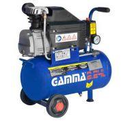 Compressor de Ar 2HP 50 Litros com Kit de Pintura - GAMMA-G2802KBR2