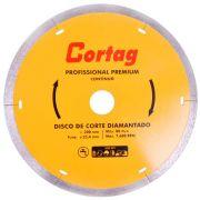 """Disco de Corte Diamantado 8"""" (200mm) Premium CORTAG 61340"""