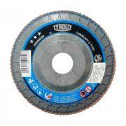 "Disco Flap 7"" Grao 40 Tyrolit Premium Reto Nylon 34239199"