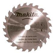 Disco de Serra Circular 185mm 24 dentes Makita STD D-51340