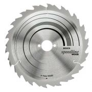 """Disco de Serra Circular  185MM  7.1/4""""  40D Speedline Bosch 2608640997"""